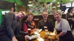 Lizzy, Bernadette, Sean and Anita