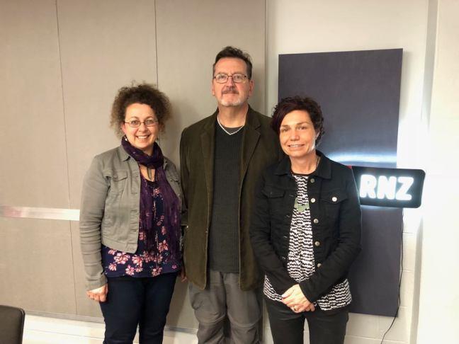 With Vanda, Alan and RadioNZ